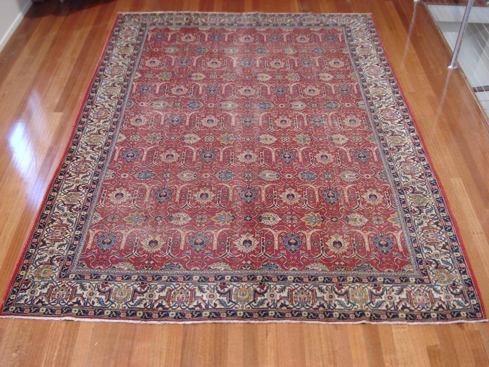 Persian Tabriz - Antique & Signed Piece - SOLD