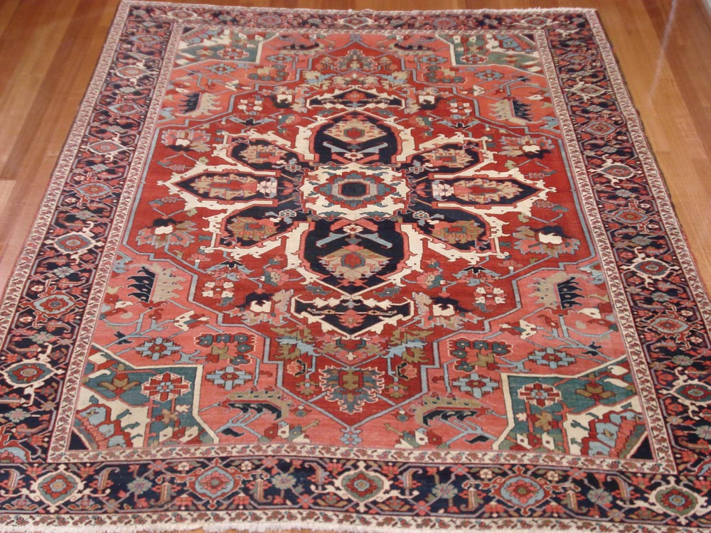 Persian Heriz - Antique